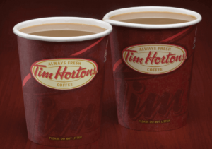 Tim Horton Coffee