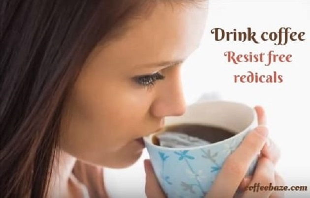 benefits of drinking coffee for skin