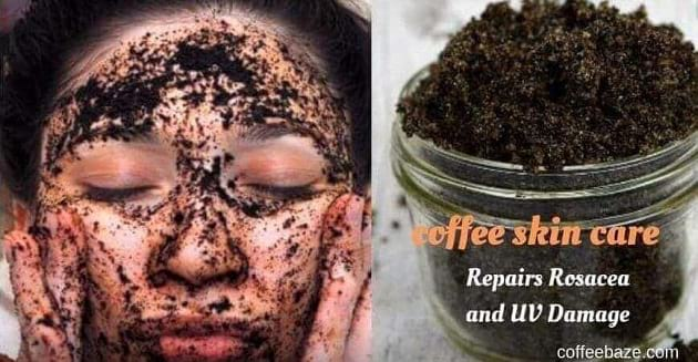 coffee skin care uv damage