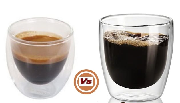 espresso coffee vs regular coffee