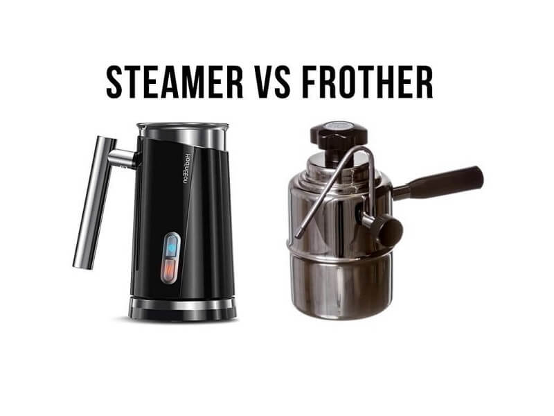 Milk Steamer vs Milk Frother